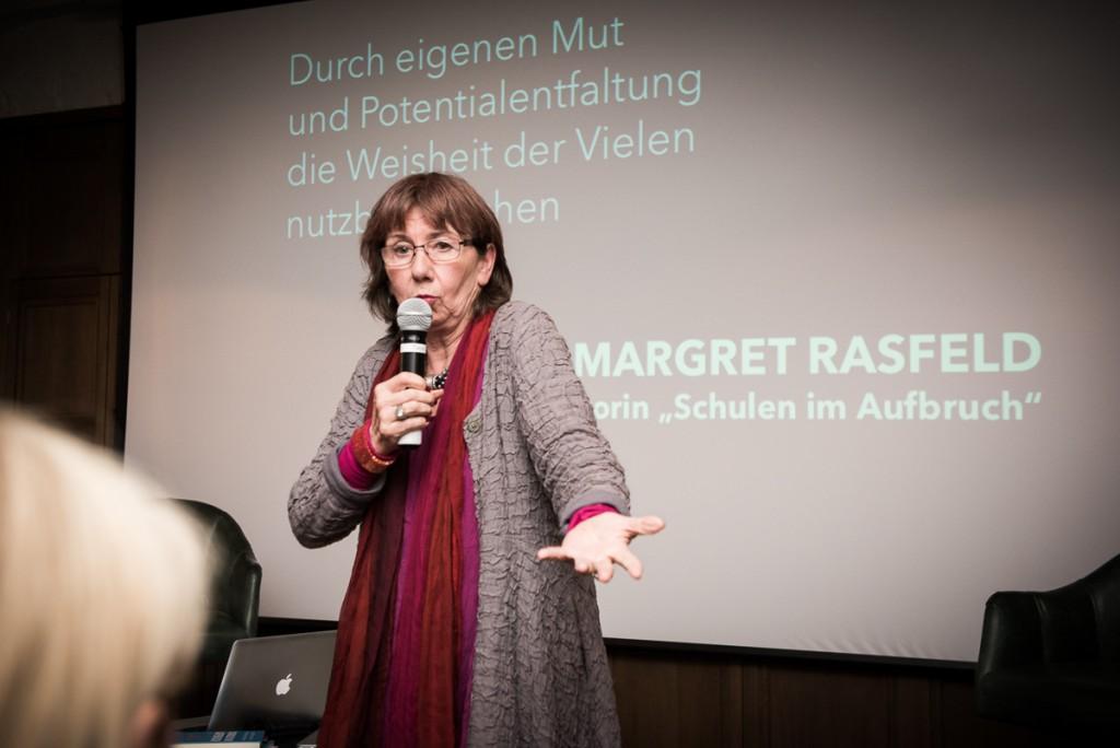 """Margret Rasfeld (Bildungsinnovatorin, """"Schulen im Aufbruch"""")"""