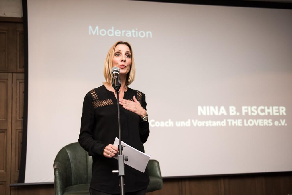 Coach und Moderatorin Nina B. Fischer