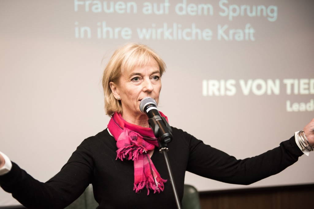 Iris von Tiedemann (Leadership Coach) bietet in Kooperation mit The Lovers e.V. einen Workshop an