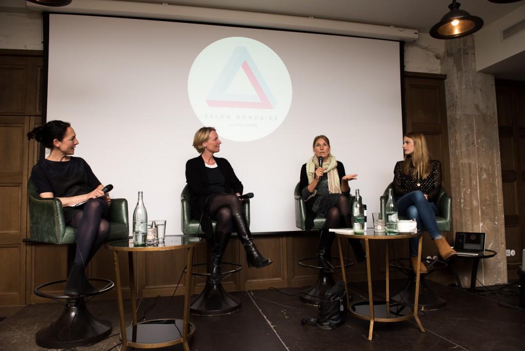2 v.l. AndreaThilo, Julia von Winterfeldt, Alexandra Schwarz Schilling, Bettina Schuler