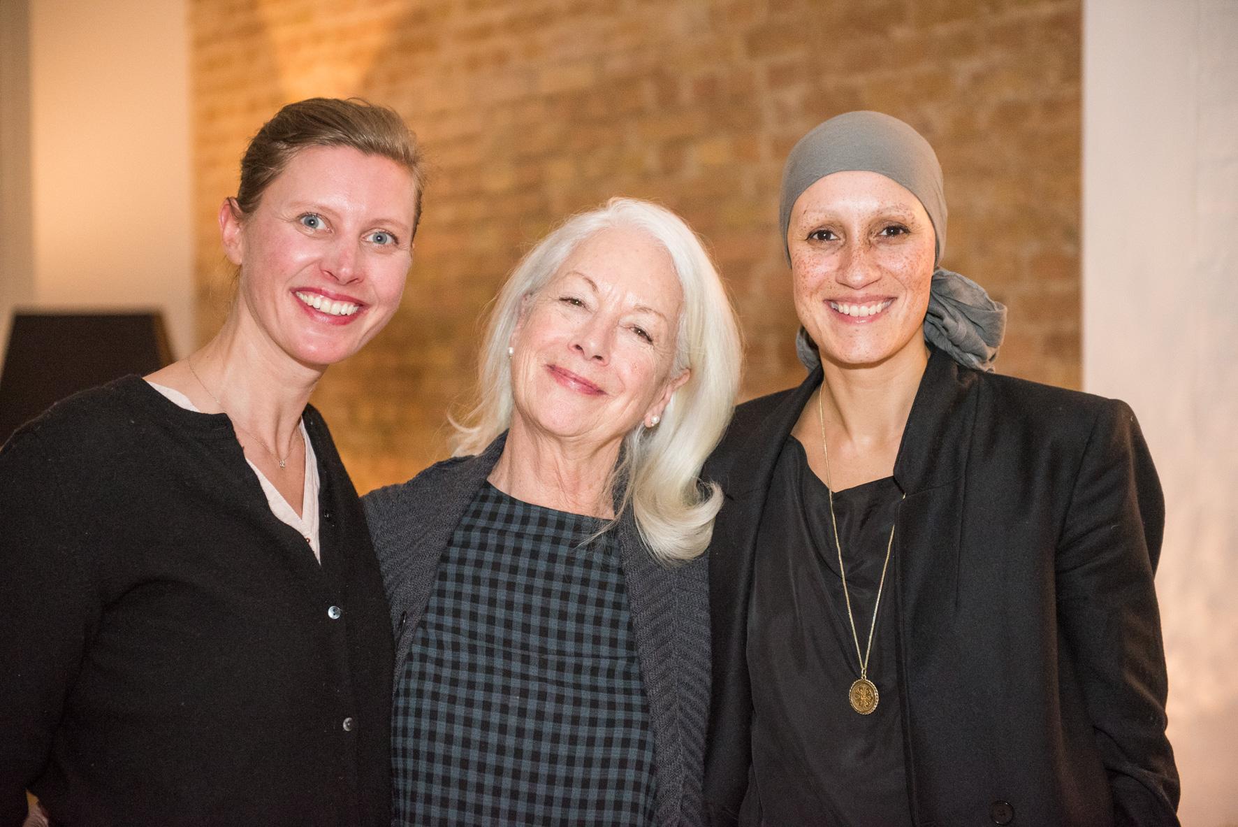 Raphaela Cochet, Scilla Elworthy & Yasmine Orth