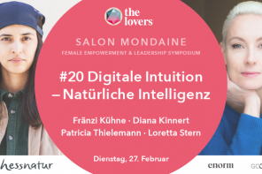 The Lovers Academy: 27.02.2018 – #20 Salon Mondaine: Digitale Intuition – Natürliche Intelligenz, Silent Green, Berlin