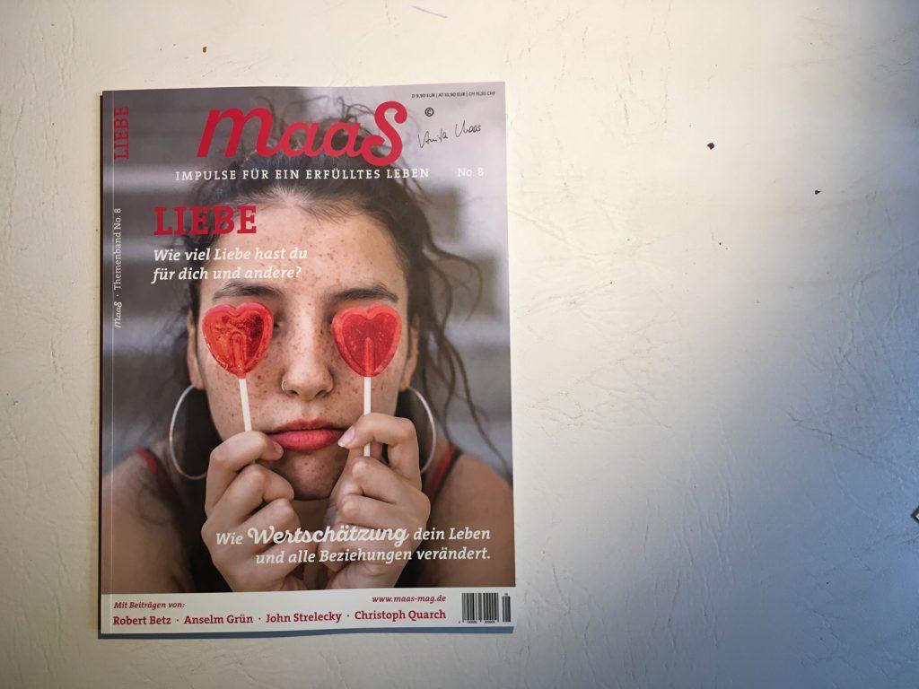 Presse: Maas Magazin #8 — Liebe, März 2018