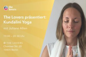 The Lovers Academy: 1x monatlich mittwochs — Kundalini Yoga